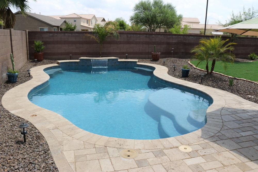 backyard pools luxury backyards SUMWATU