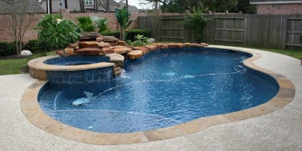 backyard pools new pool construction IAXHVRM