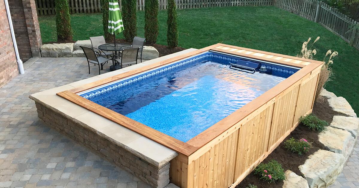 backyard pools | small backyard pool | backyard swimming pools WXLCVVE