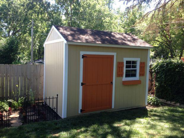 backyard shed #6 QXLFVVH