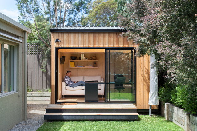 backyard shed blackburn office studio contemporary-shed FFUNYDT