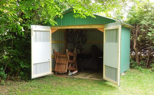 backyard shed build FMEFLRQ