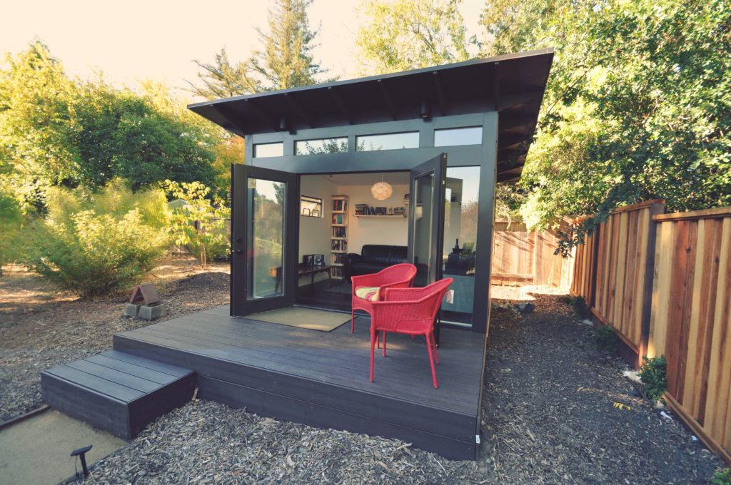 backyard shed prefab backyard rooms, studios, storage u0026 home office sheds | studio shed QSLHSTD
