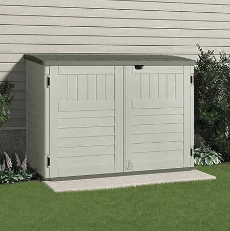backyard storage sheds cascade™ outdoor storage shed, 70-1/2inwx44-1/4ind FYGJBYE