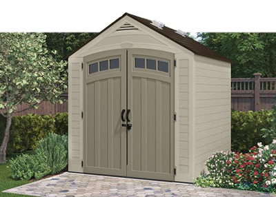 backyard storage sheds resin sheds NIRWGAS