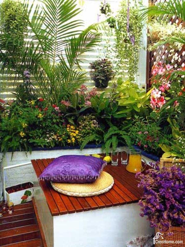 balcony garden ideas 25 charming balcony gardens TXRBQJA
