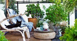 balcony garden ideas 8. private oasis PATNDJH