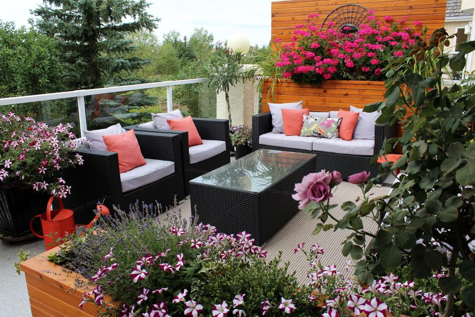 balcony garden ideas shop this look VHGNWPJ