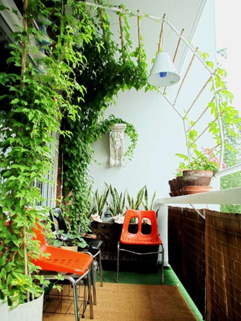 balcony garden ideas source: davinong.com EVJEUAD
