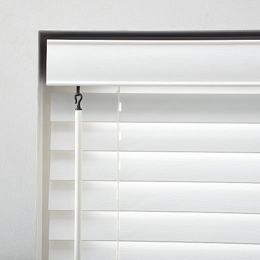 bali faux wood blinds, medium, white, 35 · detailed view ... RFNEMRC