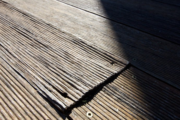 bamboo decking deck failure, issues,bamboo problems installation, evoca  sharkstooth DIMIRVJ