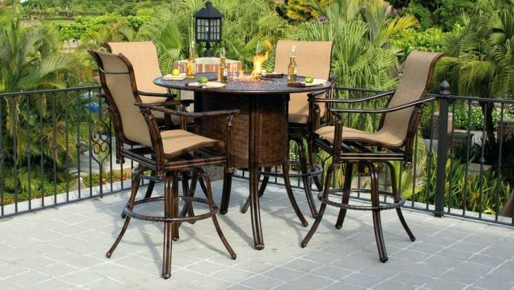 bar height patio set sling bar height patio furniture intended for awesome property designs  river EPBFDLZ