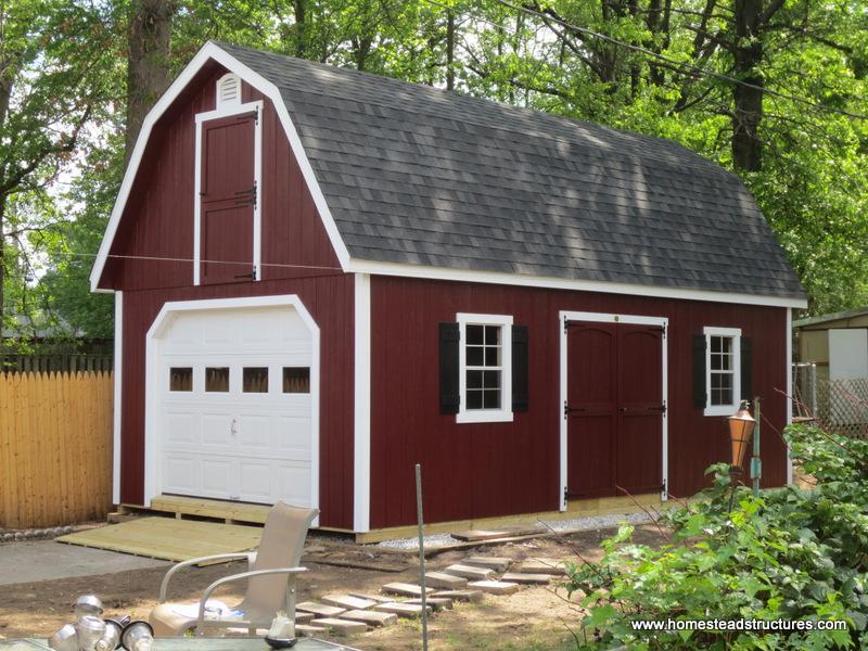 barn sheds 14u0027 x 26u0027 liberty dutch barn