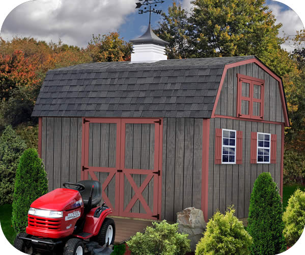 barn sheds best barns meadowbrook 12x10 wood storage shed kit QCFYUHP