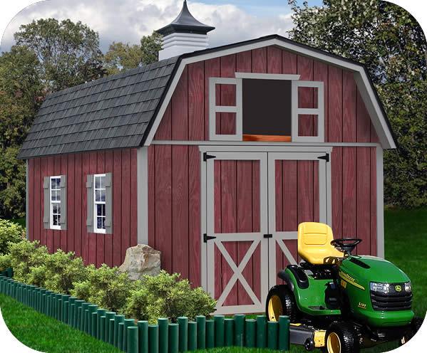 barn sheds woodville 10x12 wood storage shed kit