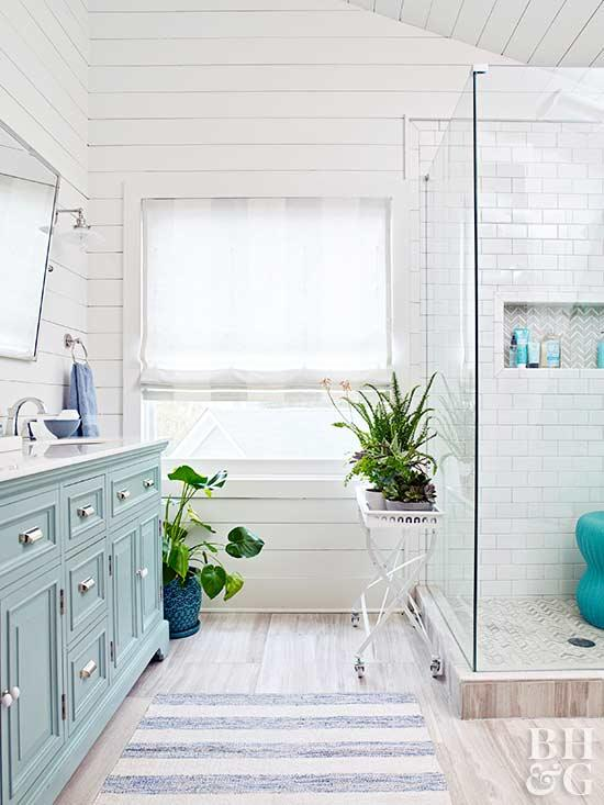bathroom window treatments space saving master bath, bathroom ANHJLSY
