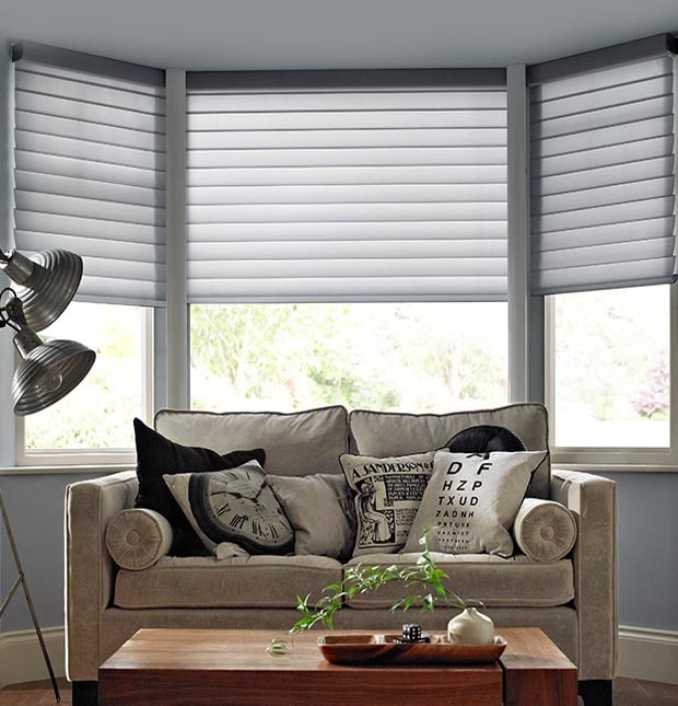 bay window blinds | made to measure with