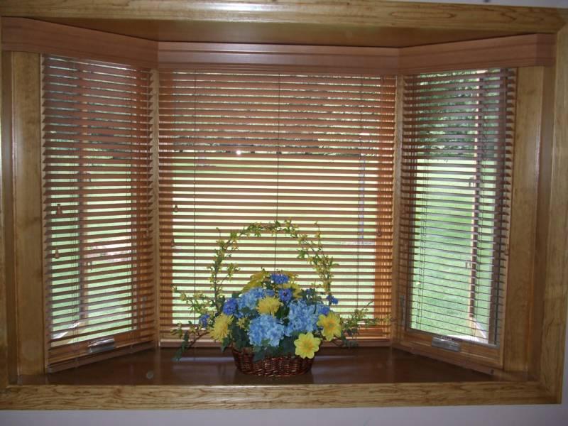 bay window blinds wood CAPDQKZ