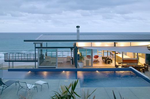 beach house designs okitu house 1 beach house design - t shaped house plans by WMZANIU