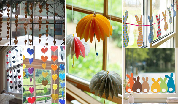 beautiful and creative window decor is not just for holiday season. you DPSPGBX
