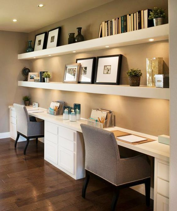 beautiful and subtle home office design ideas - best architects u0026 interior XJISVZP