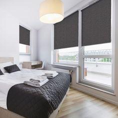 bedroom blinds u0027blocu0027 zinc blackout blind - premium roller blinds great for bedrooms or FLMSCCG