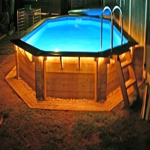 best above ground pool lights review QBXBPZU
