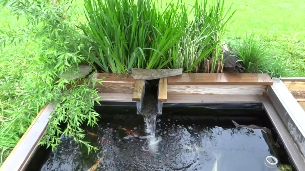 best koi pond design! ZFQOPEJ