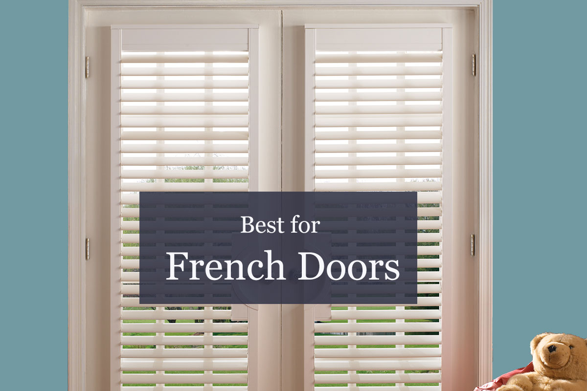 best window treatments for french doors | ndb blog JZCUAGN