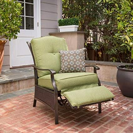 better homes and gardens providence outdoor recliner (green) JMNGTGU