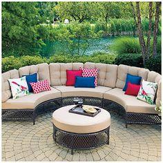 big lots outdoor furniture view wilson u0026 fisher® capri resin wicker patio set deals at big ECRVJTI
