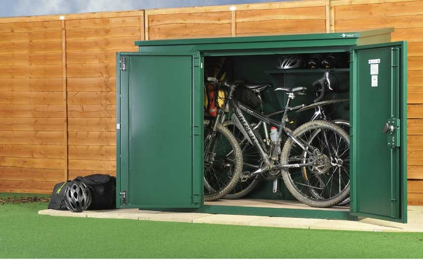 bike storage shed the five best bike storage solutions - telegraph TVKNCSF