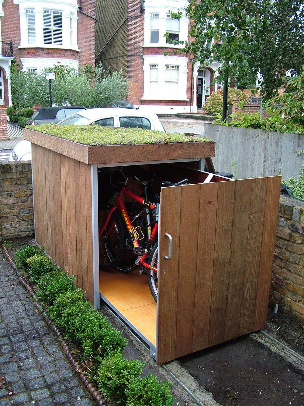 bike storage shed this outdoor bike storage locker