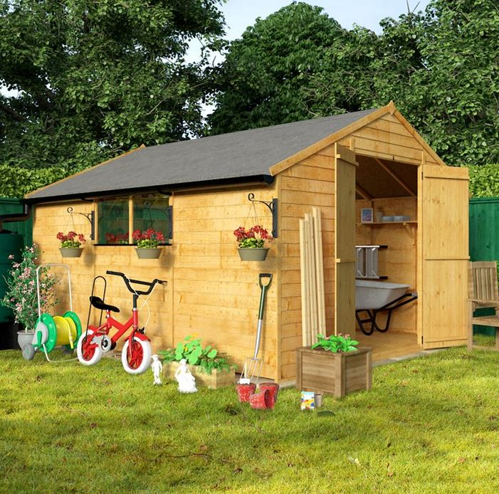 billyoh 30 12 x 10 large shed WCTDUHT