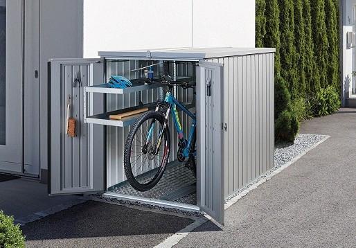 biohort mini garage bike storage shed 4u0027 x