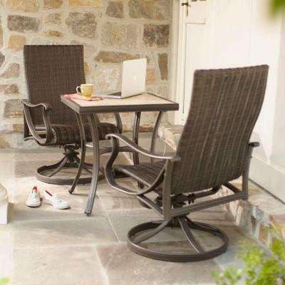 bistro patio set pembrey 3-piece patio ... LOUAJND