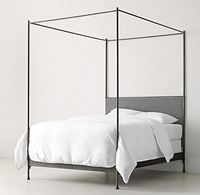 black canopy bed caleigh black iron canopy bed