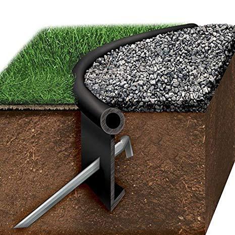 black jack poly lawn edging, one heavy duty edging kit GWXUXLB