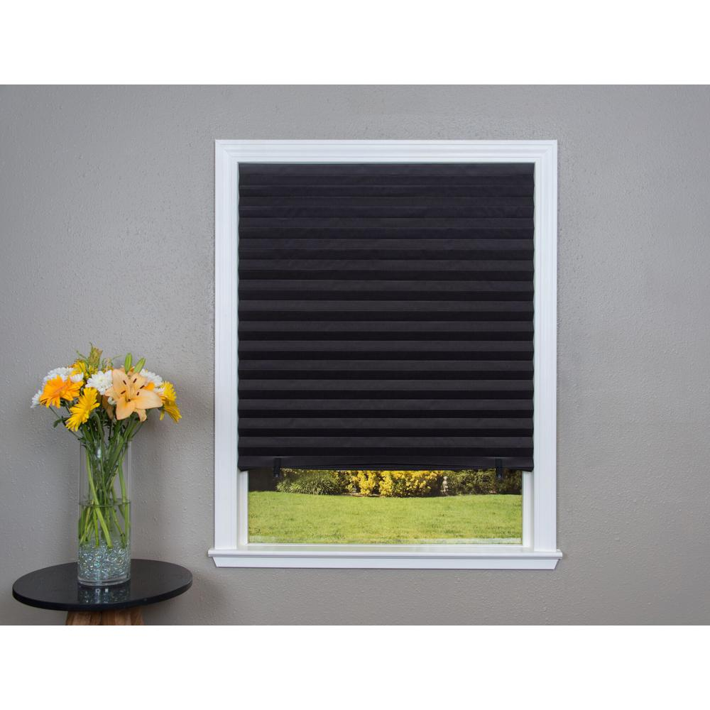black out blind redi shade black out paper window shade - 36 in. w x NTWAICU