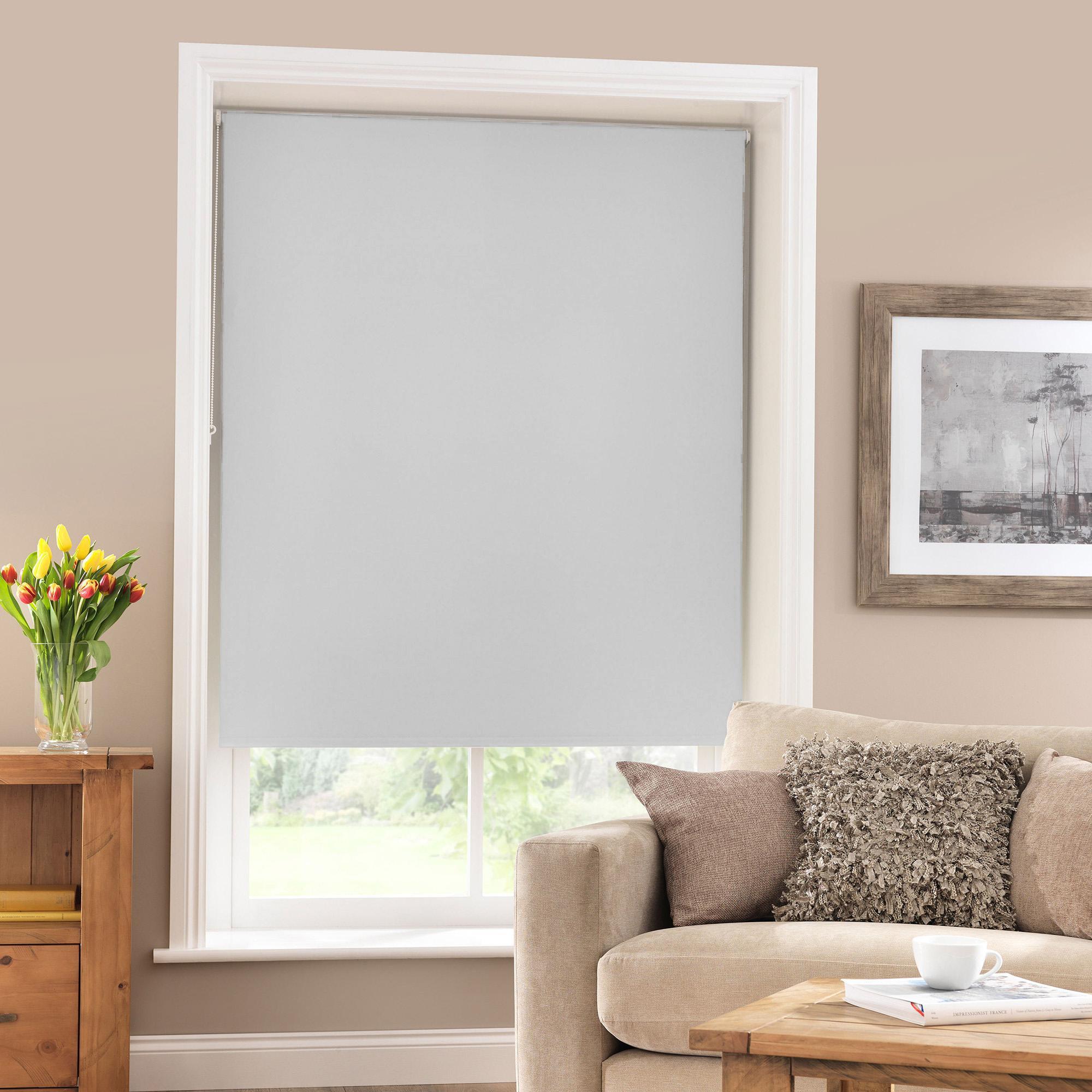 blackout blinds grey thermal blackout roller blind BQHGGOF