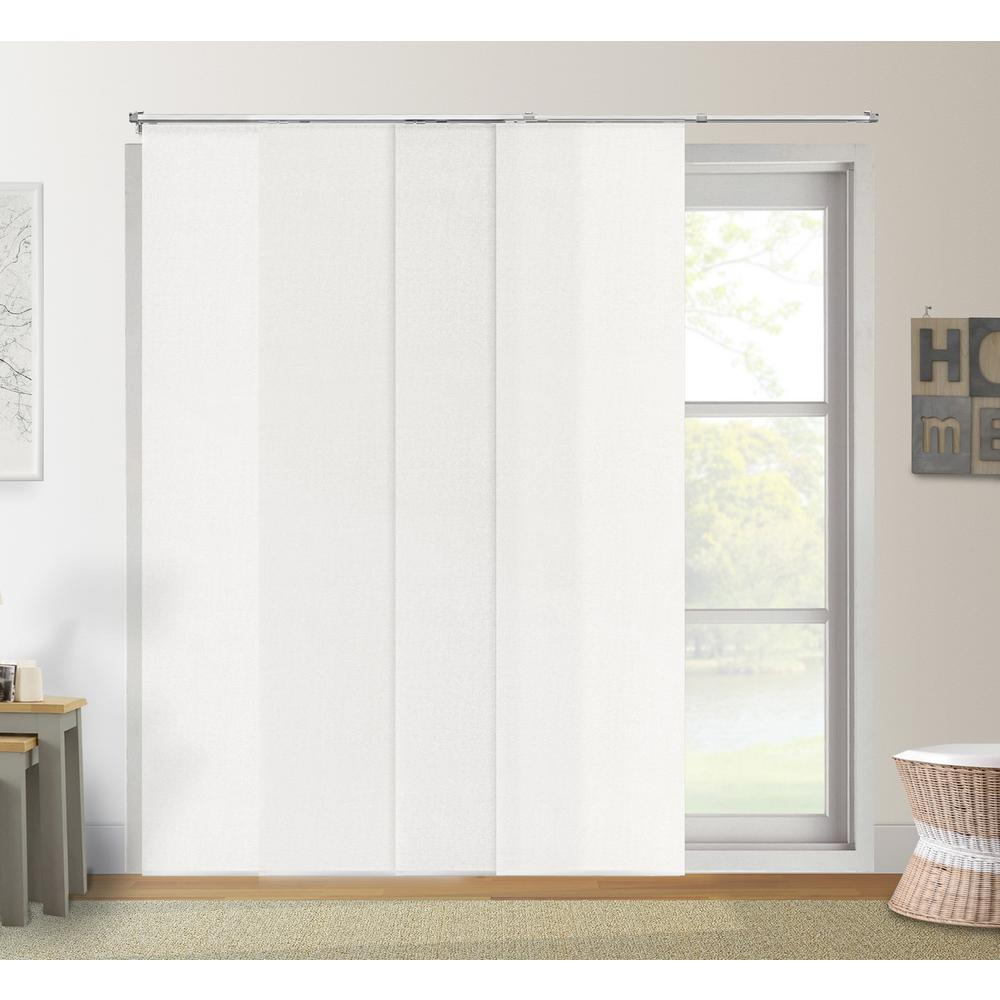blind curtain chicology adjustable sliding panel / cut to length, curtain drape vertical EYYQDNR