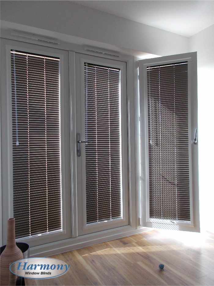 blinds for patio doors brown perfect fit venetian blinds on patio doors XHPPPNG