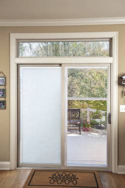 blinds for sliding doors patio doors with built-in