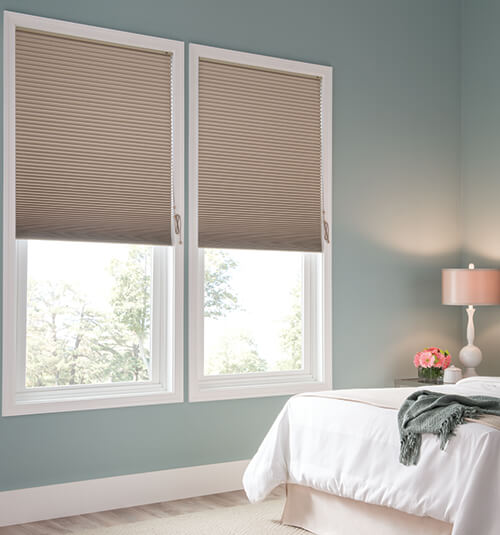 blindsgalore® gallery cellular shades: blackout shown in pathway TXKSMUR