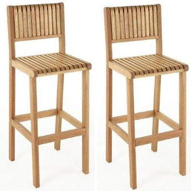 brazil outdoor bar stools - 2 pk. IISKAHI