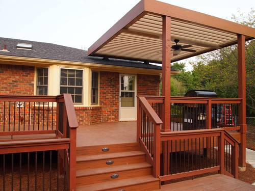 brown and coffee deck covering KYRMFHW