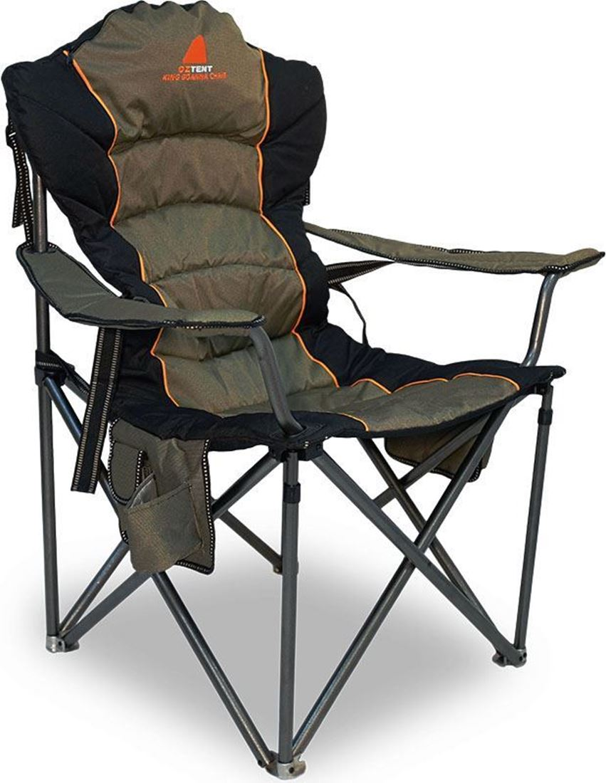 camp chairs oztent king goanna camp chair MOOTEPT