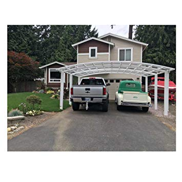 carport canopy amazon.com: aluminum alloy durable and beautiful carport , canopy , car OETESGC