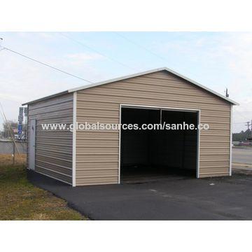 carport garage ... china steel square tube frame metal flat roof portable metal carport WCIBGBI