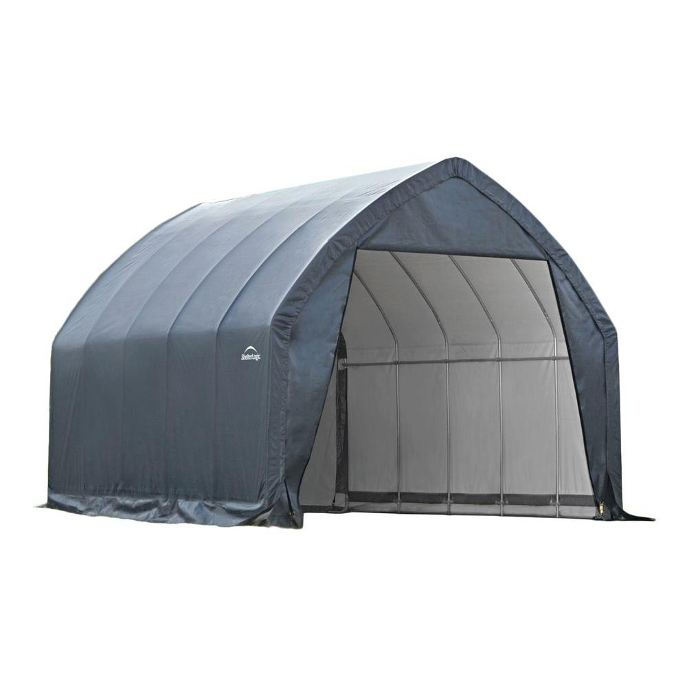carport tent garage-in-a-box 13 ft. x 20 ft.